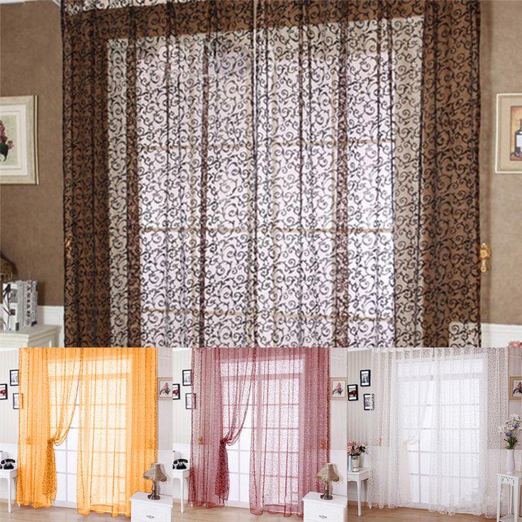 Bedroom With Bay Window Bedroom Design Wall Bedroom Curtain Ideas Bedroom Door Cracked Open: 25+ Best Ideas About Modern Window Treatments On Pinterest