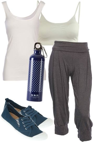 Ready For Yoga Outfit includes mesop, Betty Basics, and Diana Ferrari at Birdsnest Fashion