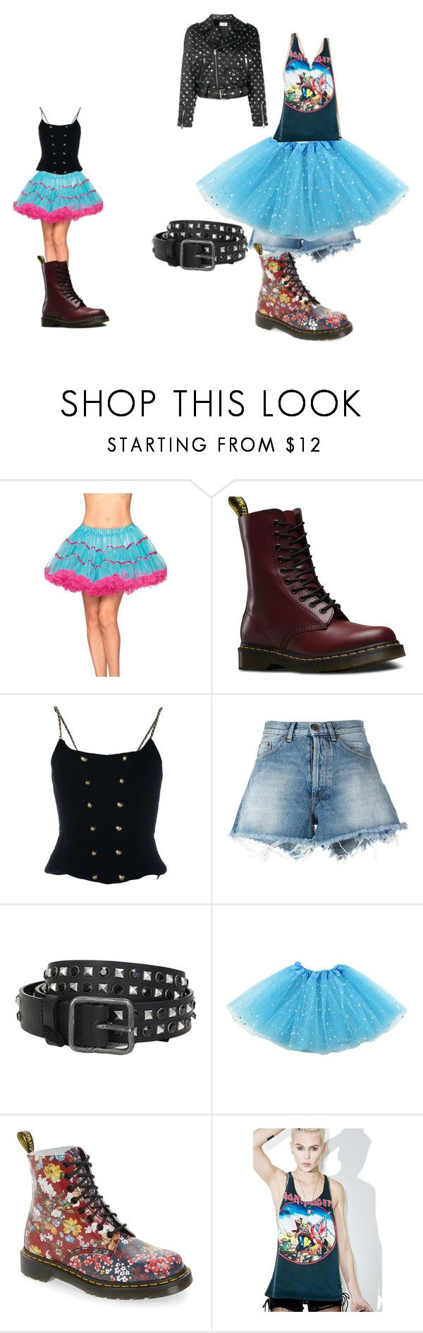 """Columbia options Rocky Horror Picture Show 2016"" by musicallovemagic ❤ liked on Polyvore featuring Dr. Martens, Chanel, Off-White, Dsquared2, Hazmat Design and Yves Saint Laurent"
