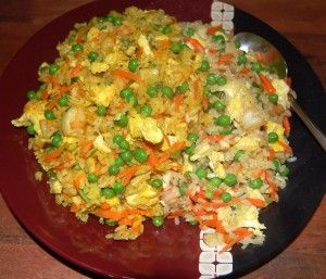 Cambridge Fried Rice -- our take on the classic Chinese way to cook leftovers