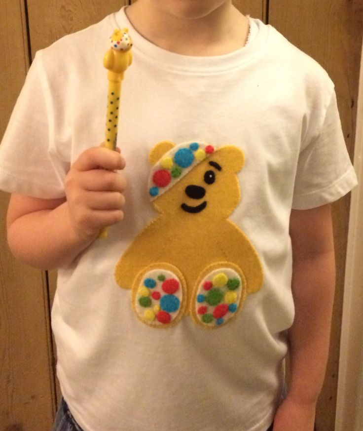 Pudsey bear -made for Children in need