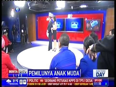 Iqbal Farabi - Election Day Berita Satu Part 1