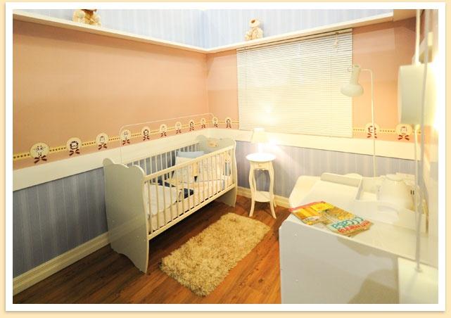 Minha Casa em Exposição: quarto do bebê por Cristiane Dilly