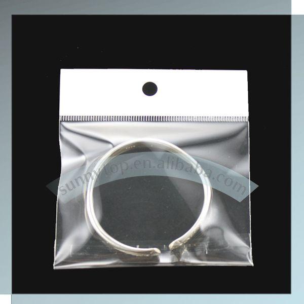 custom clear bag custom header bag, custom plastic bag plastic bag in custom size