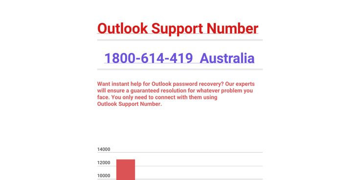Quick Solution| Outlook Support Number @1800-614-419 Australia  Want instant help for Outlook password recovery? Our experts will ensure a guaranteed resolution for whatever problem you face. You only need to connect with them using Outlook Support Number 1800-614-419 Australia . For more information visit: https://goo.gl/gRnV8m
