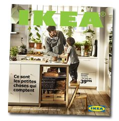 The IKEA Catalogue 2016 - thème «Les petites choses font les grands moments»