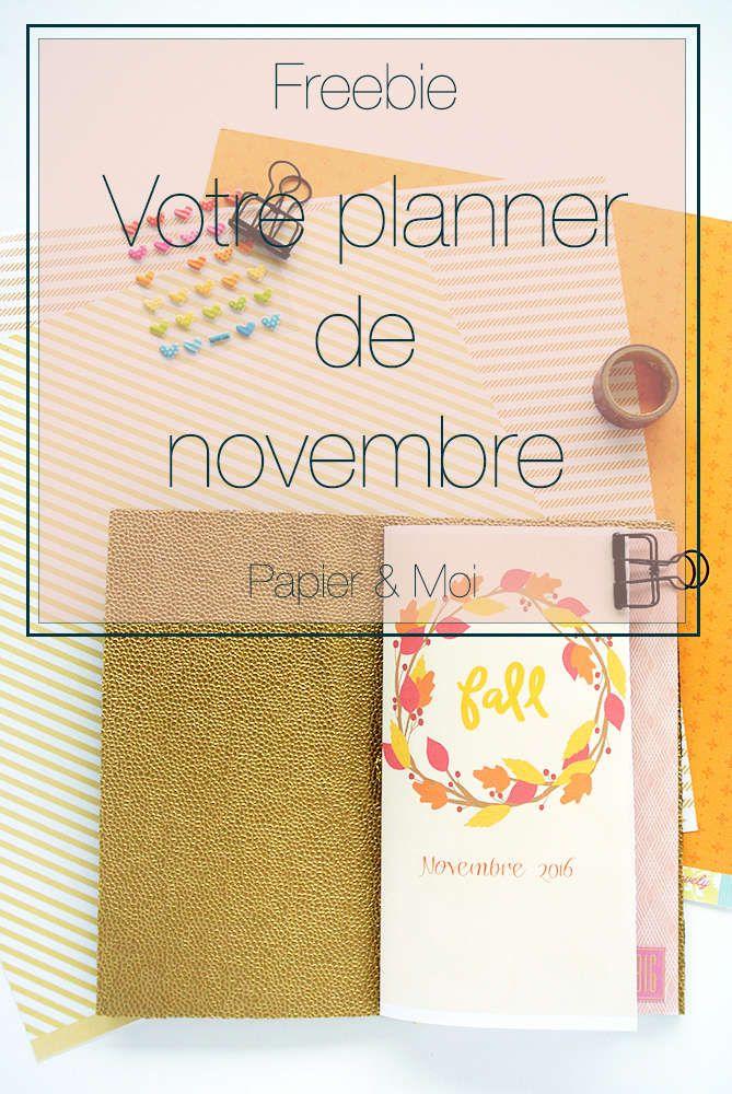 Freebie Traveler's Notebook Planner - Midori