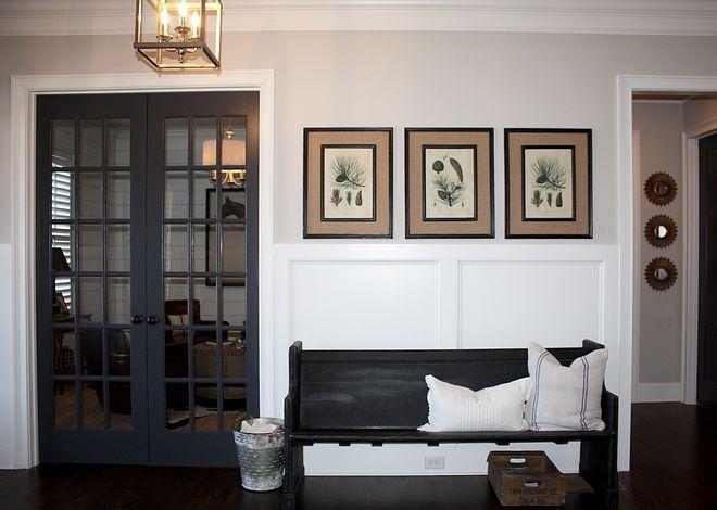 Wrought Iron By Benjamin Moore Grey Interior Doors Benjamin