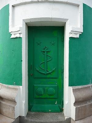 Incredible Green Anchor Door