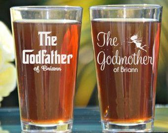 Godfather Godmother Gift Baptism Gift for by LifelongCreationsDS                                                                                                                                                                                 More