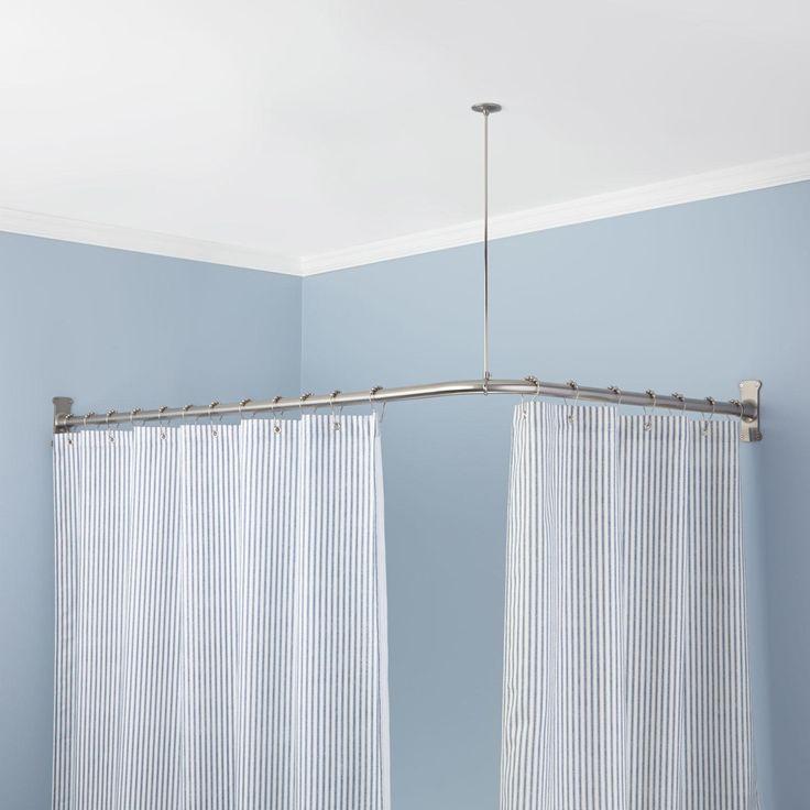 Round Shower Curtain Rods | Signature Hardware