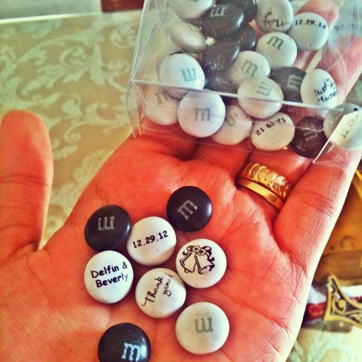 Wedding giveaway M.