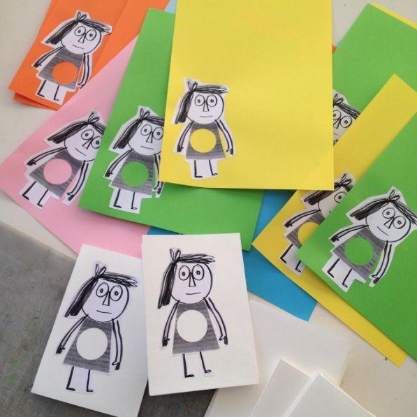 Idea para ACTIVIDAD después de la lectura de VACÍO... Dibuja, pinta, engancha lo que sale del vacío de Julia