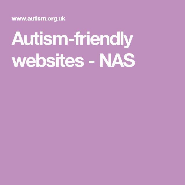 Autism-friendly websites - NAS