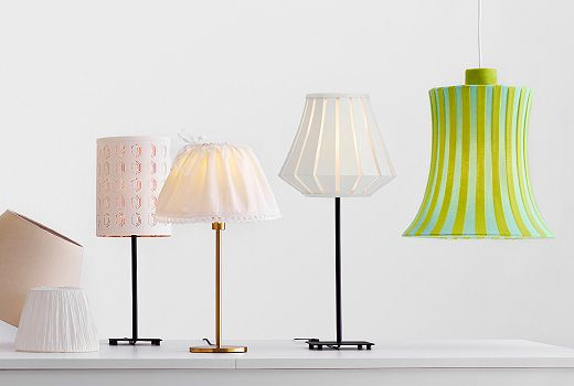 Image result for lampshade ideas narrow bases