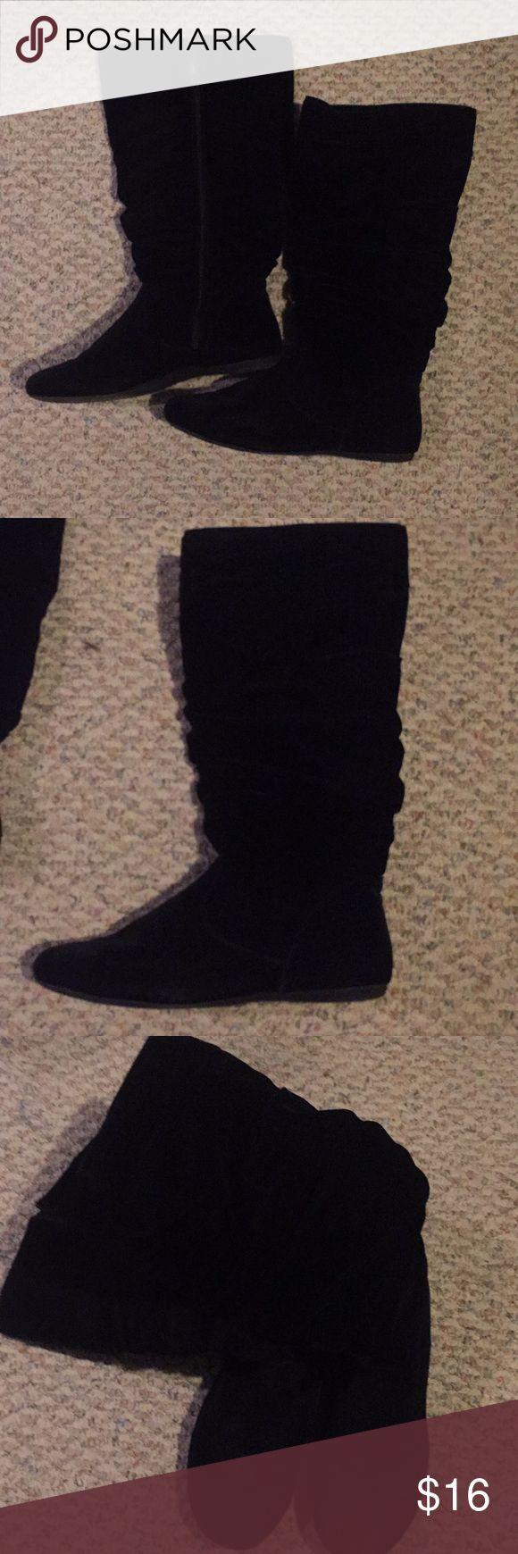 Black Boots Black boots... Size 11 Shoes