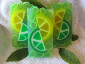 Jabón de lima y limón