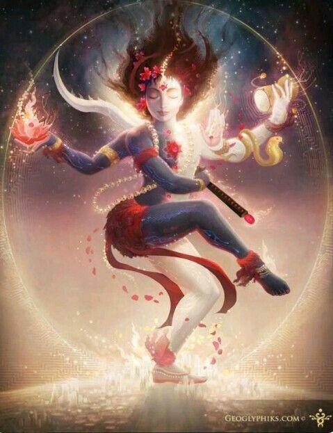 Shiva & Shakti / Lord Shiva & Goddess Kali / Yin Yang energies