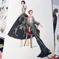 Happy birthday to me!! Wishing all the best for everyone and for myself. Inspired by @marchesafashion summer spring 2018. #sketch #sketching #draw #drawing #fashion #fashionsketch #fashiondrawing #fashionillustrator #fashionillustration #fashionart #art #artwork #instaart #illustrator #illustration #marchesa #marchesafanfriday #ss18collection