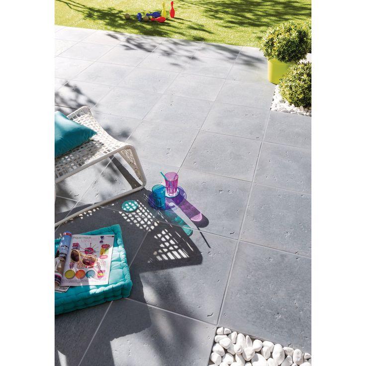 dalle emotion les exclusifs gris 50x50x2 5 cm les exclusifs d coration ext rieure. Black Bedroom Furniture Sets. Home Design Ideas