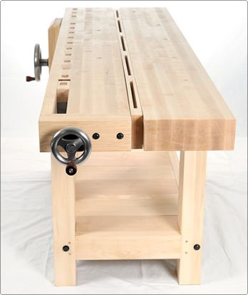 BenchCrafted.com - Split Top Roubo. I've always liked split-top benches - so handy in lots of ways.