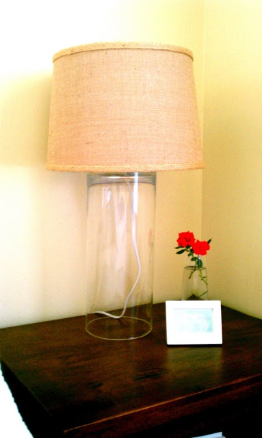 How to Make a DIY Glass Lamp