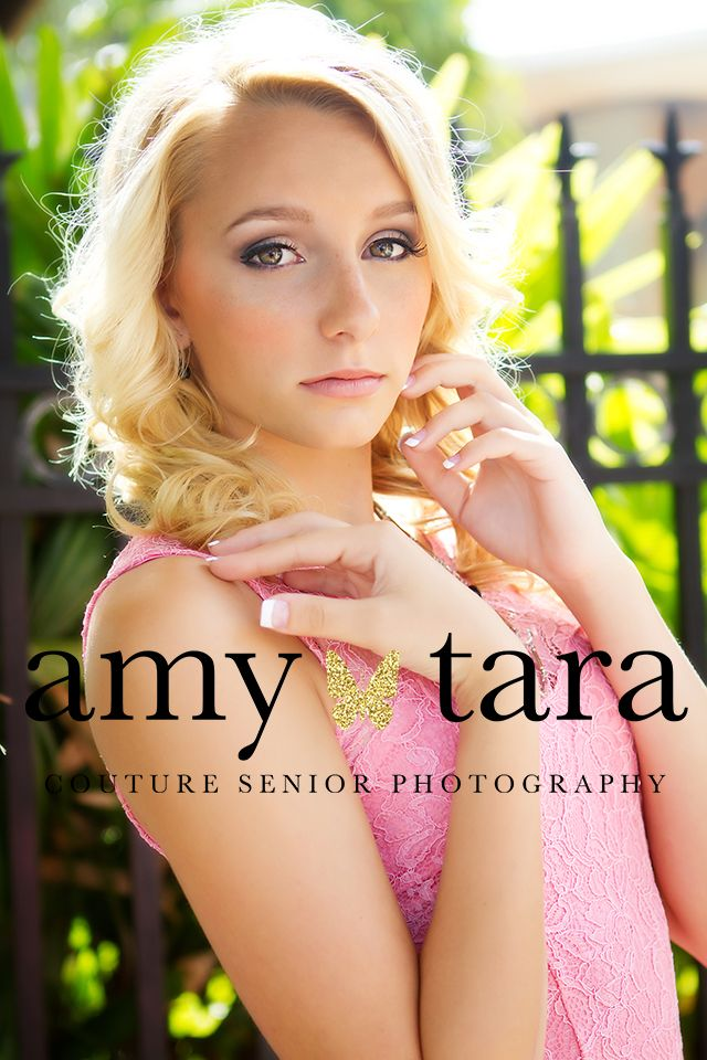 High School Senior Portrait Photographer   www.amytara.com   senior pictures in downtown Stuart with wonderful glowing light.