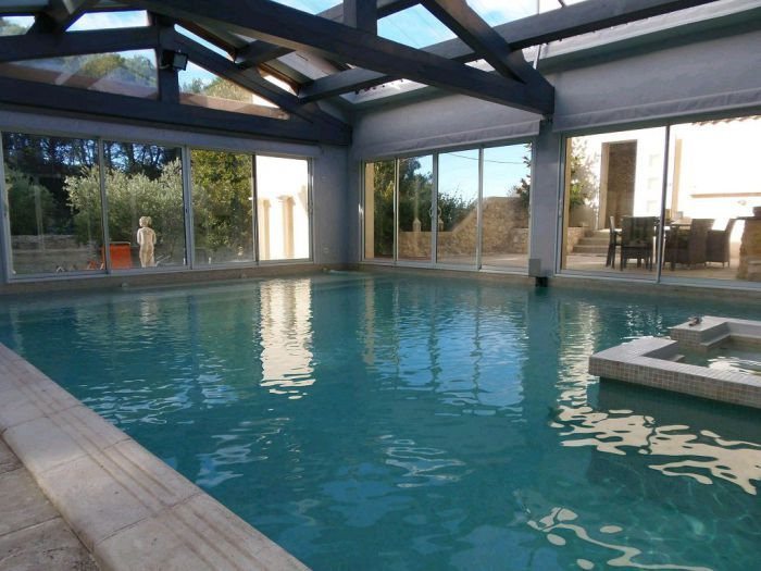 65 best immobilier de prestige images on pinterest real for Piscine le pontet