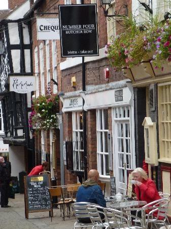 Number Four, Shrewsbury