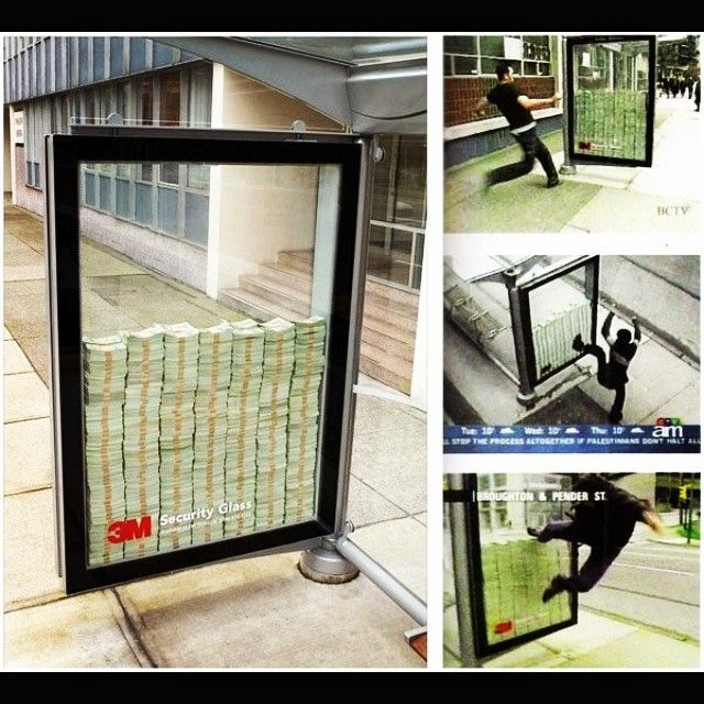 M Security Glass Ad