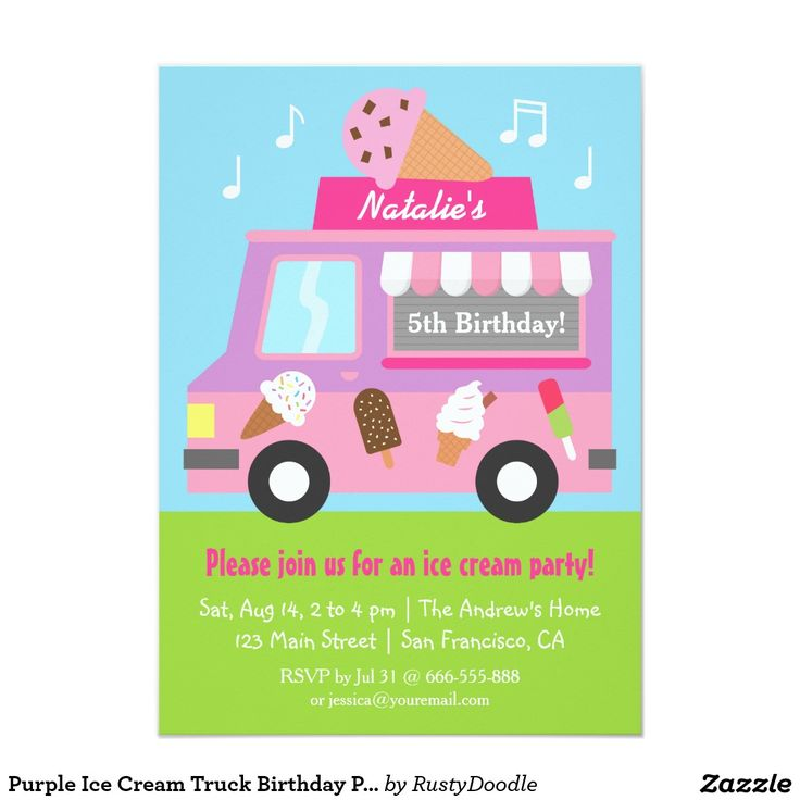 58 best Invites Ice Cream Party images on Pinterest Ice cream - best of invitation card birthday party