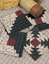 Town Square - Quilted Pot Holder Patterns