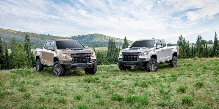 2021 Chevrolet Colorado Zr2 Wide Angle View In 2020 Chevy Colorado Chevrolet Colorado Colorado