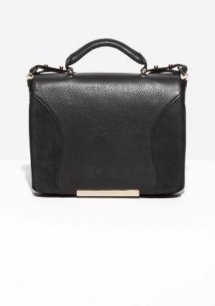& Other Stories   Leather Shoulder Bag