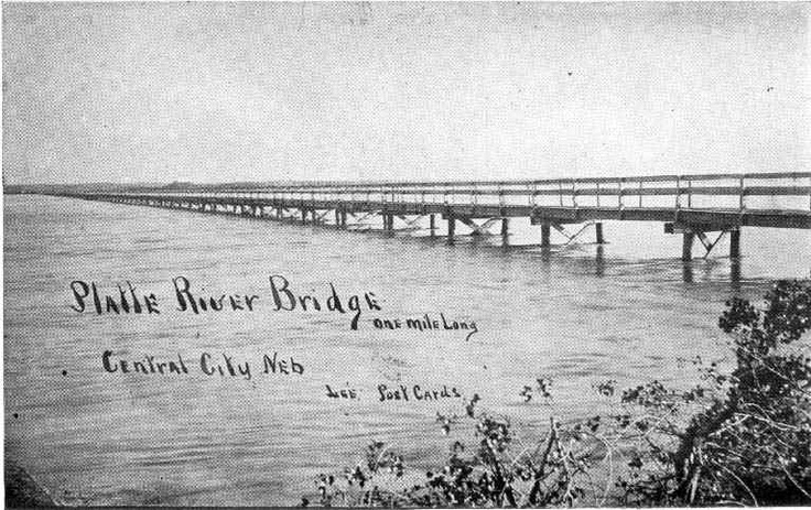 Platte River Bridge Central City, Nebraska