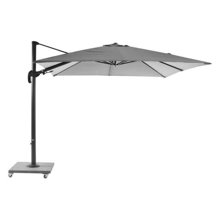 Bellini Home and Gardens Block Palermo 10 ft. Cantilever Parasol with Granite Base - LF01UM110LB2039
