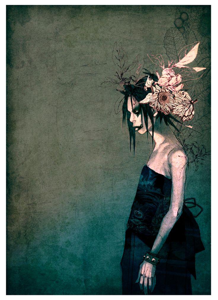 tatsurou:kurayami ni saku hana by AnnaWieszczyk.deviantart.com on @deviantART