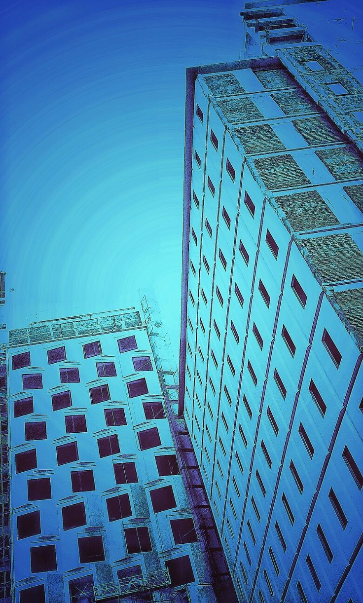 Phonegraphy Purple building on different mood Taken by WahyuSriHastomo