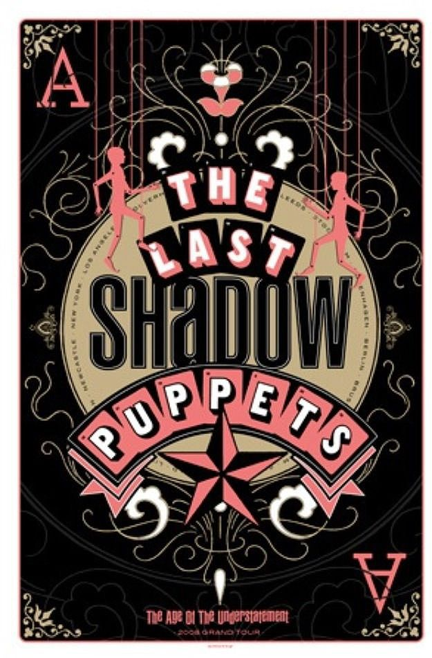 The Last Shadow Puppets_Tour Poster