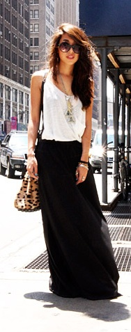 And another black maxi. Can never get enough.