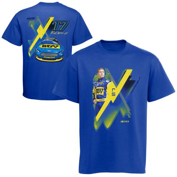Chase Authentics Ricky Stenhouse, Jr. 2013 Youth Showtime T-Shirt - Royal Blue - NASCAR.com Superstore