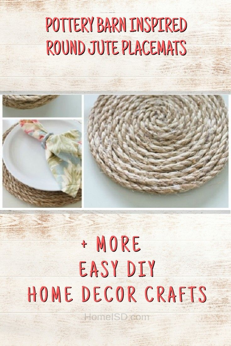 260 Easy Diy Home Decorating Ideas Craft Project Tutorials With Images Home Diy Easy Diy Pottery Barn Inspired