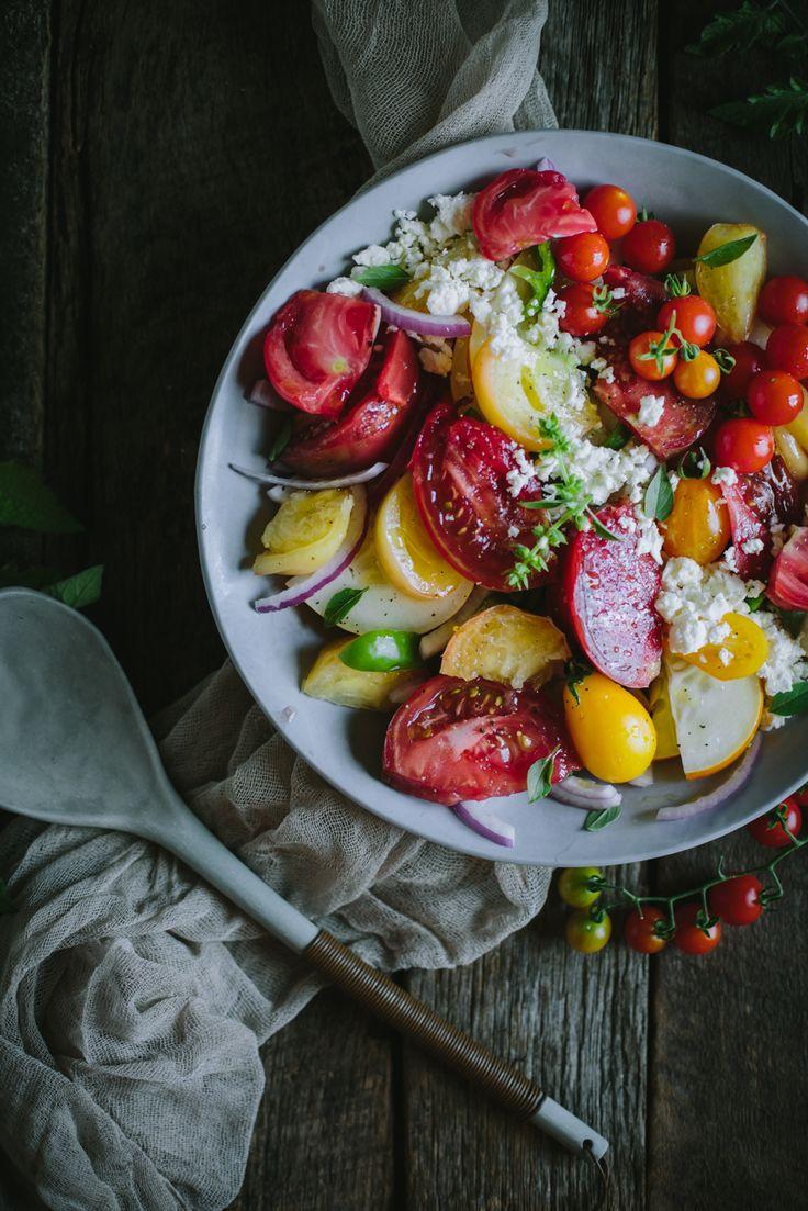 Greek Salad by Eva Kosmas Flores   Adventures in Cooking