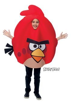 Unisex Red Angry Birds Child Costume http://www.shopprice.com.au/angry+birds+costume