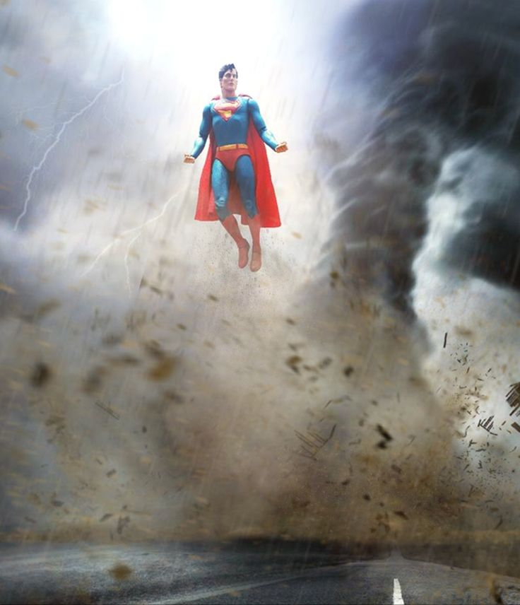 SUPERMAN. 7 Inch NECA Superman by Pacific Shatterdome. IG: pacific_shatterdome.