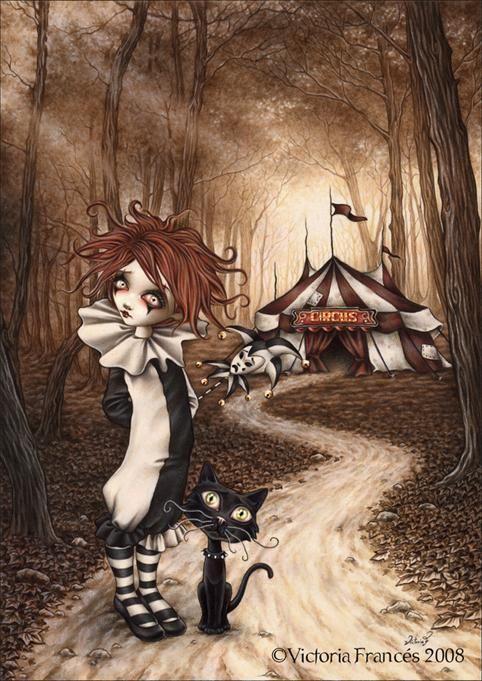 """Circus"" Victoria Frances"