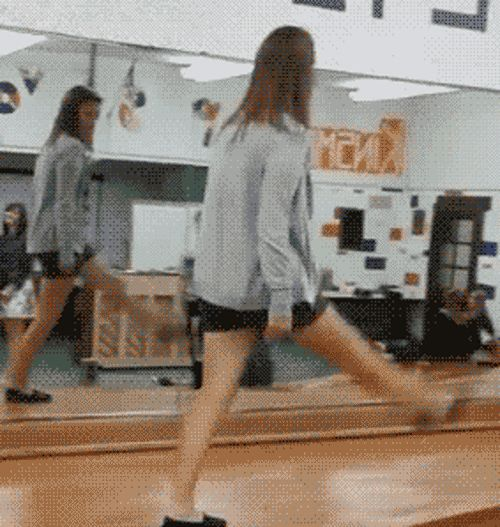 Highstepping To Failure | Picture | 20 Hilarious GIFs Of Girls Falling Down | Break.com