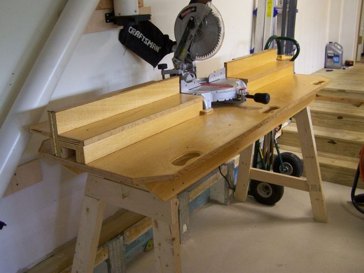 Miter Saw Station - by njcraftsman @ LumberJocks.com ~ woodworking ...