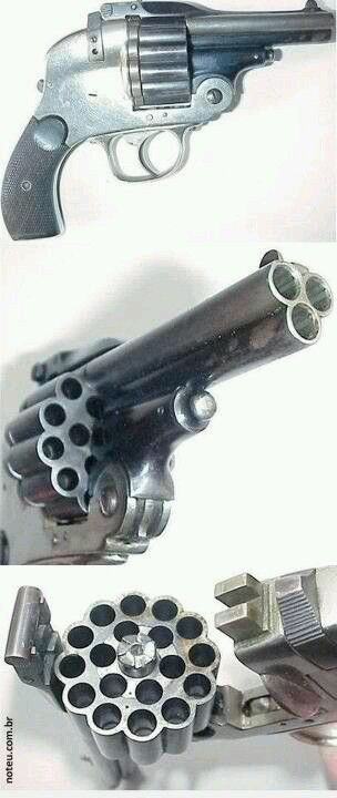 Zombie Apocalypse weapon of choice! Triple tap is the new double tap!