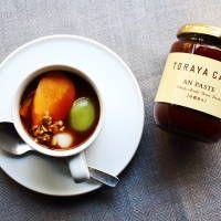 「フルーツ×あんこ」がベストマッチ!「トラヤカフェ」が提案する進化型おしるこレシピ